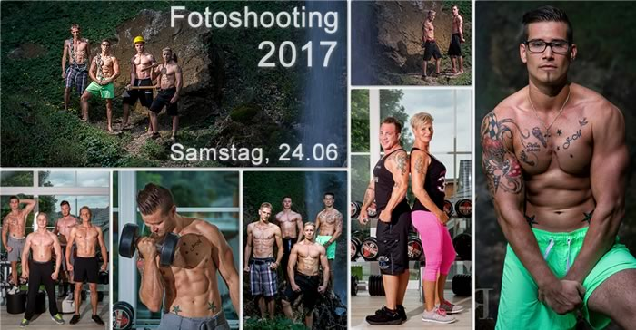 Collage Fotoshooting 2017